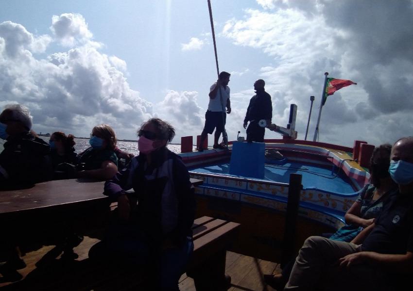 Embarque no Bote Leão pelo Estuário do Tejo